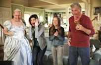 """<p><b>This Season's Theme:</b> """"We're going to have a bunch of different characters in different states of crisis,"""" says series creator Justin Adler. """"The show really lives and breathes in those awkward moments that we can all relate to."""" <br><br><b>Where We Left Off: </b> Jen (Zoe Lister-Jones) found out she was pregnant on the same day Greg (Colin Hanks) quit his job so he could launch his invention, CryTunes; Heather (Betsy Brandt) and Tim's (Dan Bakkedahl) teen son Tyler (Niall Cunningham) and his girlfriend Clementine (Hunter King) got married; Matt (Thomas Sadoski) and Colleen (Angelique Cbral) got engaged; and parents John (James Brolin) and Joan (Dianne Wiest) shocked everyone by revealing they've been secretly divorced for 35 years. <br><br><b>Coming Up: </b> A season premiere that includes hilarious marrieds Megan Mullally and Nick Offerman playing the parents – actually, the mom and uncle – of Clementine. """"Once you meet them and you see that Clementine came from this, you can very easily see why Clementine was so comfortable getting married at this age,"""" says Adler. Heather and Tim will decide they have to do everything to support """"these two 18-year-old idiots,"""" while Heather will also contemplate a return to the workplace. Joan will be dealing with the death of her mother (an homage to actress Ann Gilbert, who died in June) and a remarriage to John, and Colin Hanks promises, """"CryTunes is most definitely still in play for Greg. It better be … it took a season for us to find Greg a job, and then he lost that job the next episode."""" <br><br><b>I Do, Too?: </b> Could there be a double Short wedding, with mother and father joining Matt and Colleen at the altar? """"There is a chance,"""" Adler confirms. """"We're definitely going to be building toward a wedding for Matt and Colleen this year."""" But wedding drama won't be Colleen and Matt's biggest problem: There's the potential return of Colleen's ex, Chad (Jordan Peele), and their co-worker, Dougie (Fortune Feimster), """