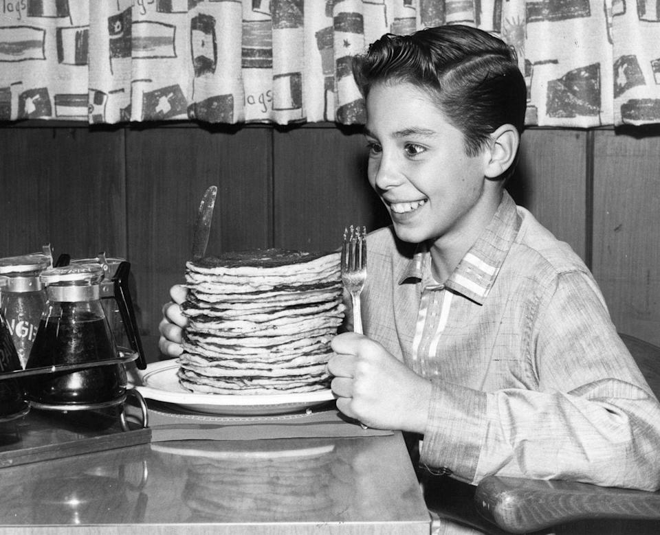 <p>Thanks to the International House of Pancakes, which was founded in 1958, pancakes saw a huge boom in the 1960s.</p>