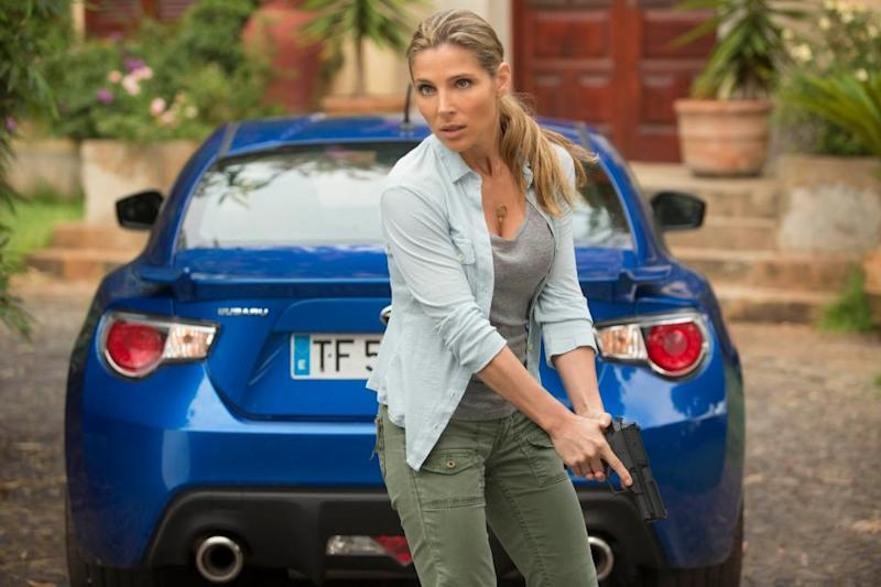 Elsa Pataky as Elena in 2013's 'Fast & Furious 6' (credit: Universal)
