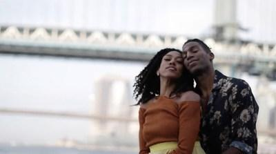 Lindsey Donnell and Derek Brockington, two star dancers from the prominent ballet company Dance Theatre of Harlem.