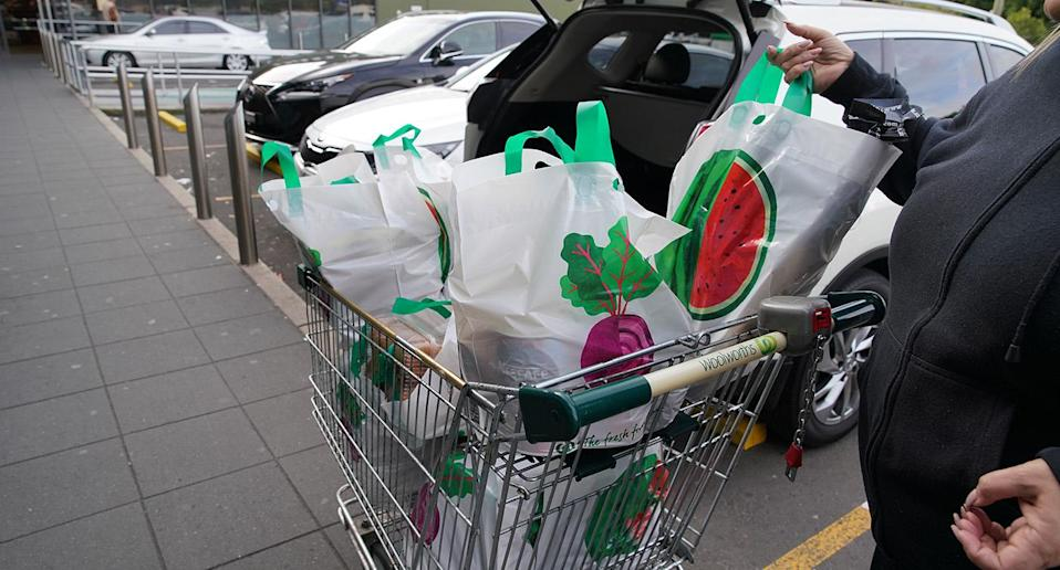 There's new concerns over how many reusable bags are being sold. Image: AAP