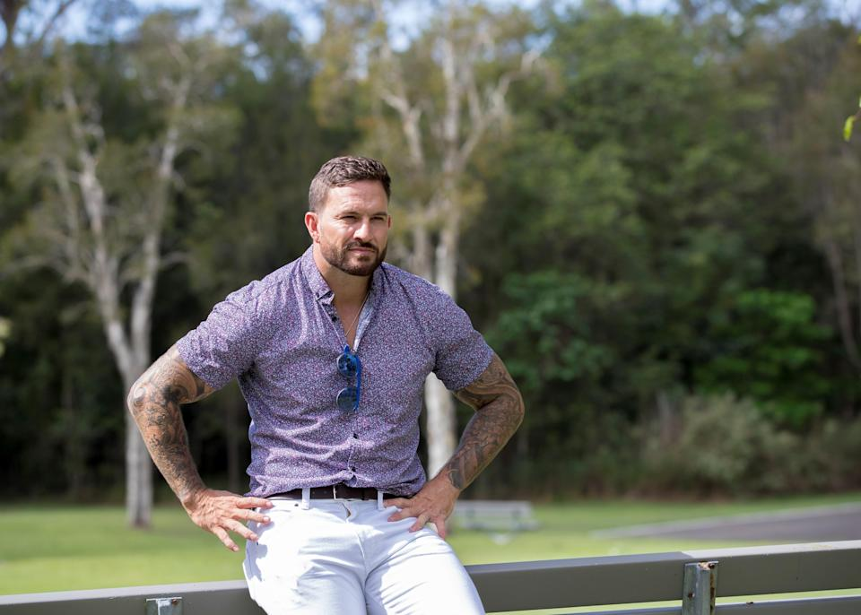 <em>Married At First Sight</em> star Dan Webb is trying to move on after his split. Photo: Diimex