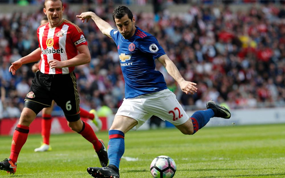 Henrikh Mkhitaryan scored after 46 seconds of the second period - Credit: Reuters