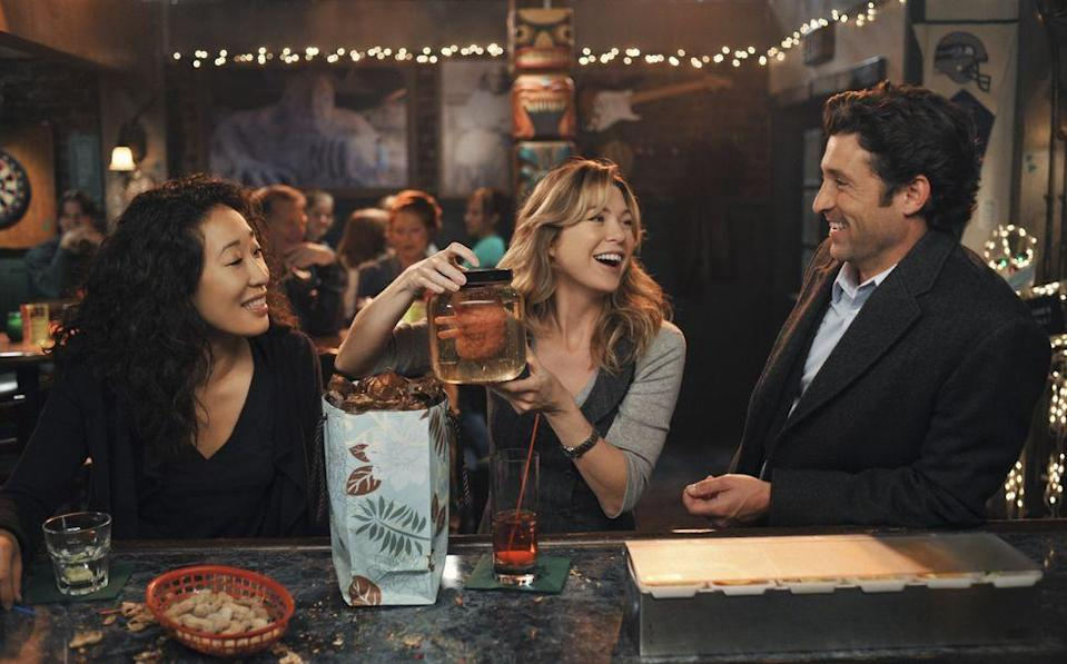 <p>After a long, long day of work, the doctors of Seattle Grace Hospital in <em>Grey's Anatomy </em>usually wound up at Joe's Bar to commiserate over a difficult shift and cheer one another up. Some even found their person at the bar. </p>