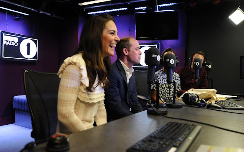 While visiting Radio 1, The Duke and Duchess of Cambridge made an appearance on Scott Mills show - Credit: BBC