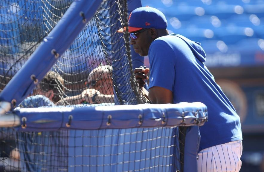 Mets Chili Davis BP