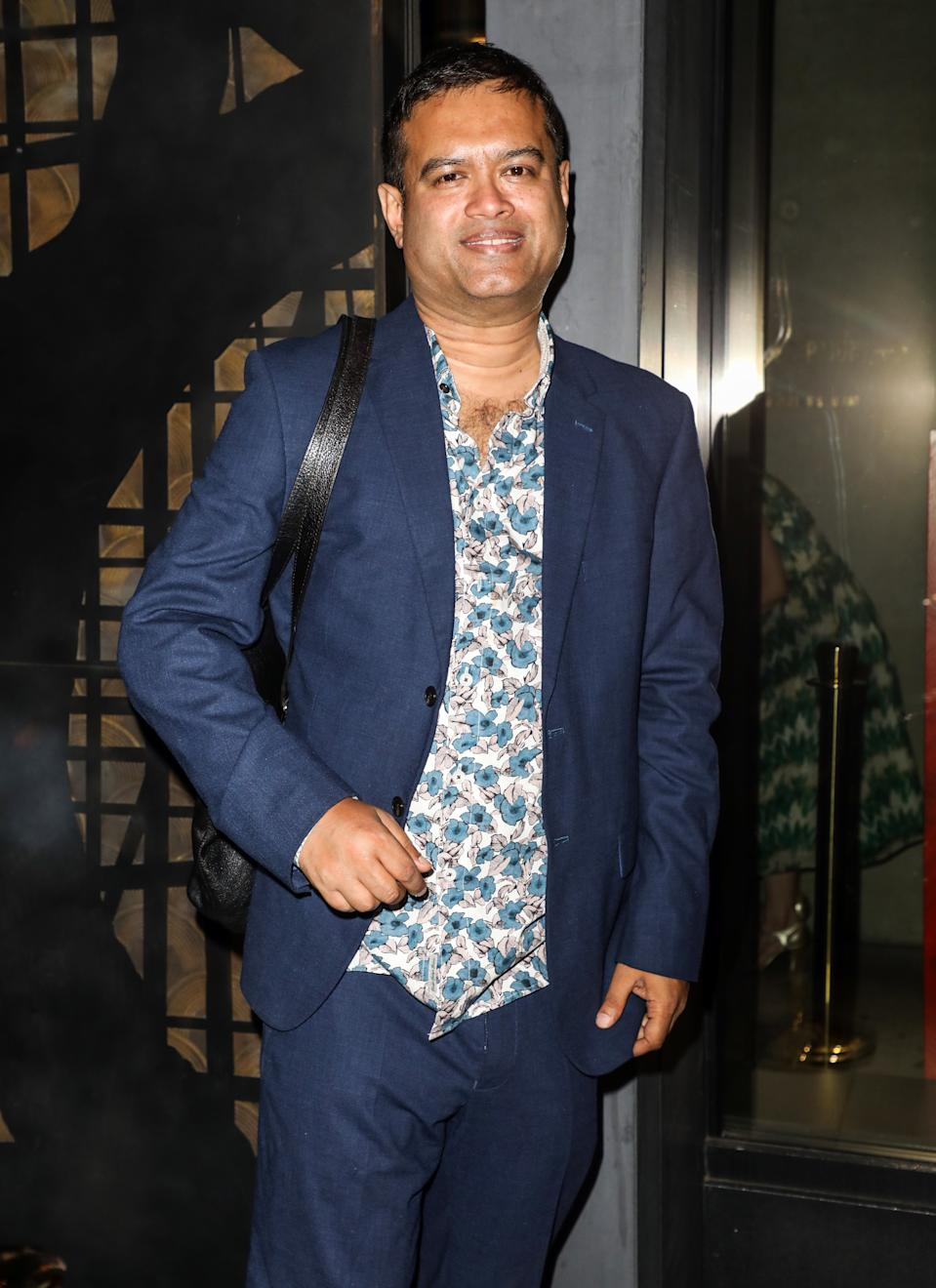 Paul Sinha attending the ITV Summer Party 2019 at Nobu Shoreditch in London (Photo by Brett Cove / SOPA Images/Sipa USA)