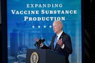 US President Joe Biden has vowed to have enough vaccine doses for the entire American population within months
