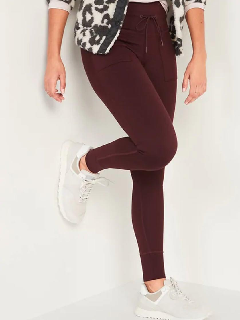 <p>The <span>High-Waisted CozeCore Jogger Leggings</span> ($37) have a nice high waistband with drawstring and nice compression throughout the leg. Nothing too tight!</p>