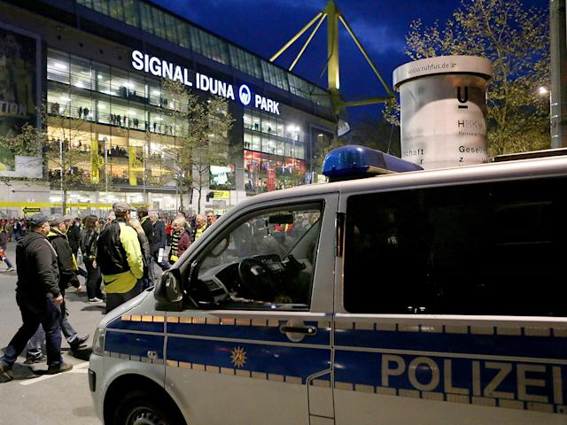 German police confirm first arrest and warn suspected terrorist attack on Borussia Dortmund bus could have been far more serious