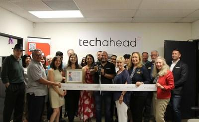 TechAhead's 10th Anniversary With Gala Ribbon Cutting