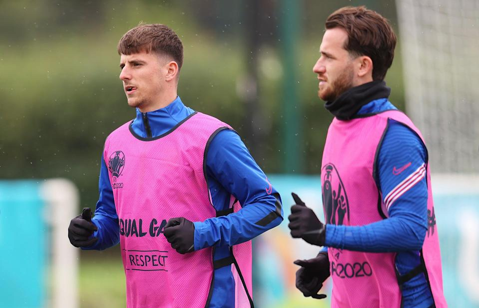 England's Mason Mount and Ben Chilwell (Getty Images)