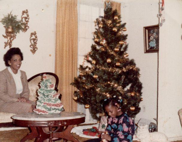 PHOTO: Author Sarah M. Broom is pictured here with her mother in Christmas 1986. (Courtesy Sarah Broom )