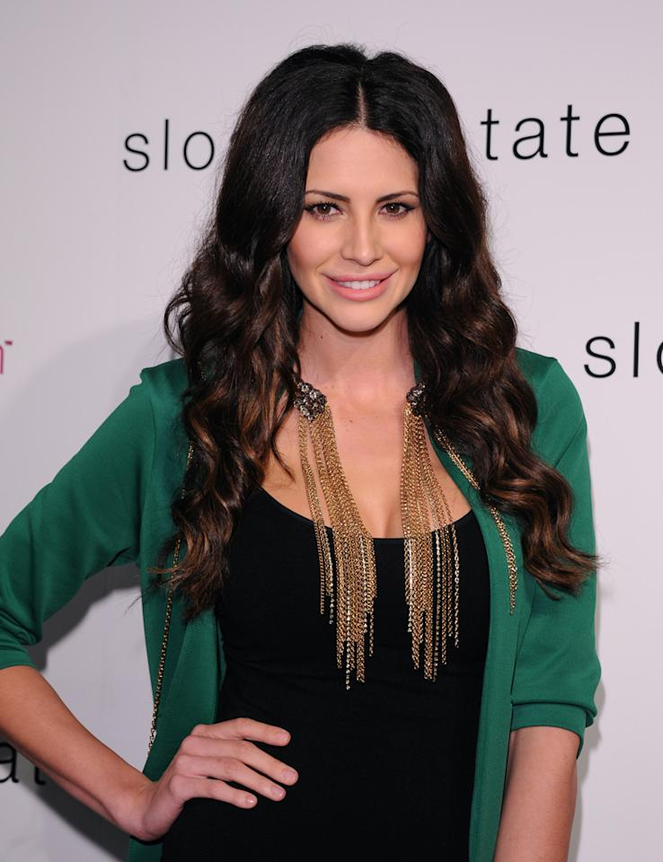 """<b>Hope Dworaczyk</b><br><br>A model who walked the runway for Versace before landing Playboy's first-ever 3-D centerfold. She also starred in """"The Girls Next Door"""" and was 2010's Playmate of the Year."""
