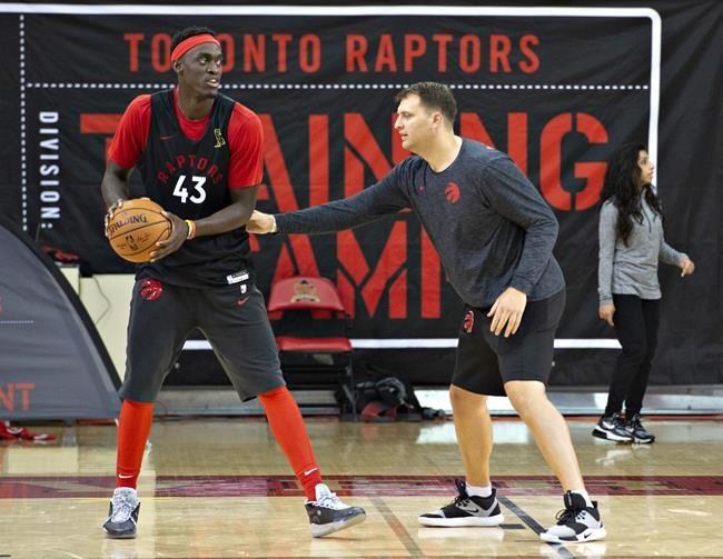"Raptors' first practice in four months had a ""first day of school"" feeling"