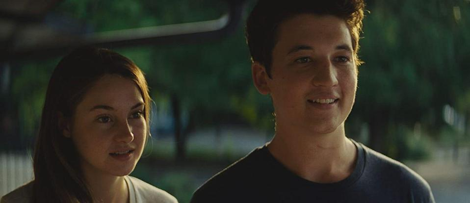 "<p><strong>Movie:</strong> <em>The Spectacular Now</em></p><p>Although fans might know <a href=""https://www.menshealth.com/entertainment/a28006444/miles-teller-too-old-to-die-young/"" rel=""nofollow noopener"" target=""_blank"" data-ylk=""slk:Teller"" class=""link rapid-noclick-resp"">Teller</a> from his other films, the actor was 26 when he portrayed Sutter Keely in the 2013 movie. </p>"
