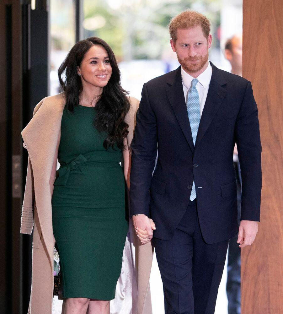 Meghan Markle and Prince Harry | Shutterstock