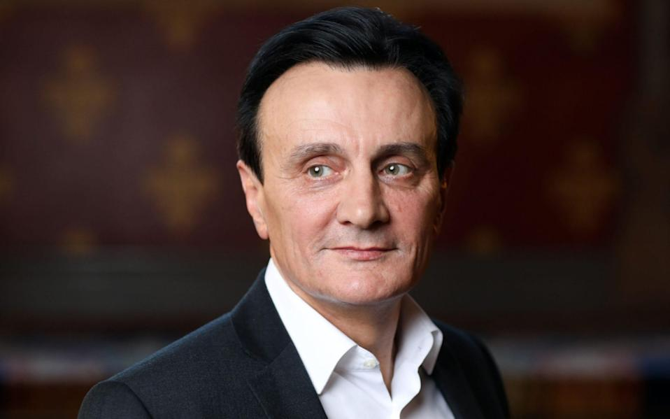 AstraZeneca chief executive Pascal Soriot was paid £15m in 2020 - Simon Dawson/Bloomberg