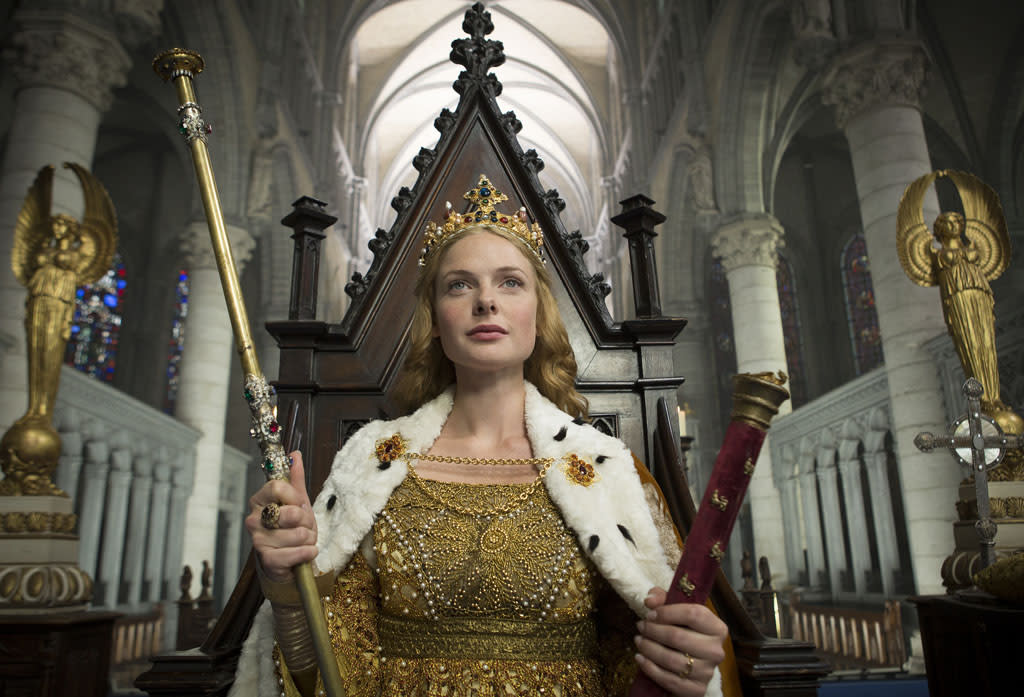 "Rebecca Ferguson as Elizabeth Woodville in ""The White Queen"" on Starz."