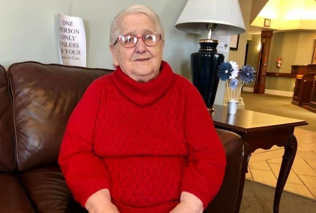 Arsenault says after staying with family, she is glad to have space to call her own again.