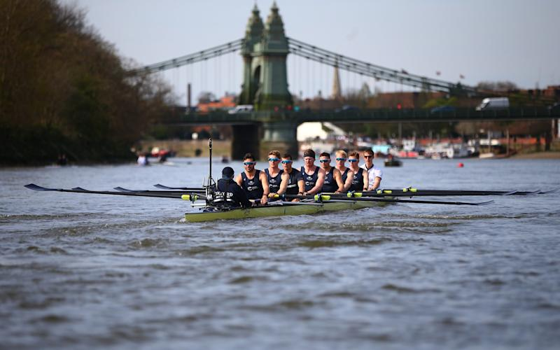 Oxford Boat Race team 2017 - Credit: Getty Images
