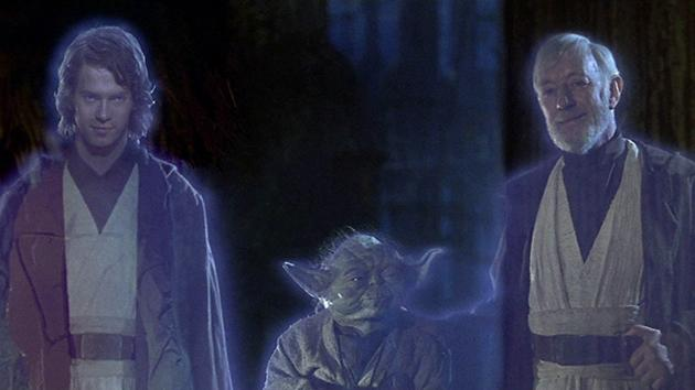 Alternate ending of 'Return of the Jedi'