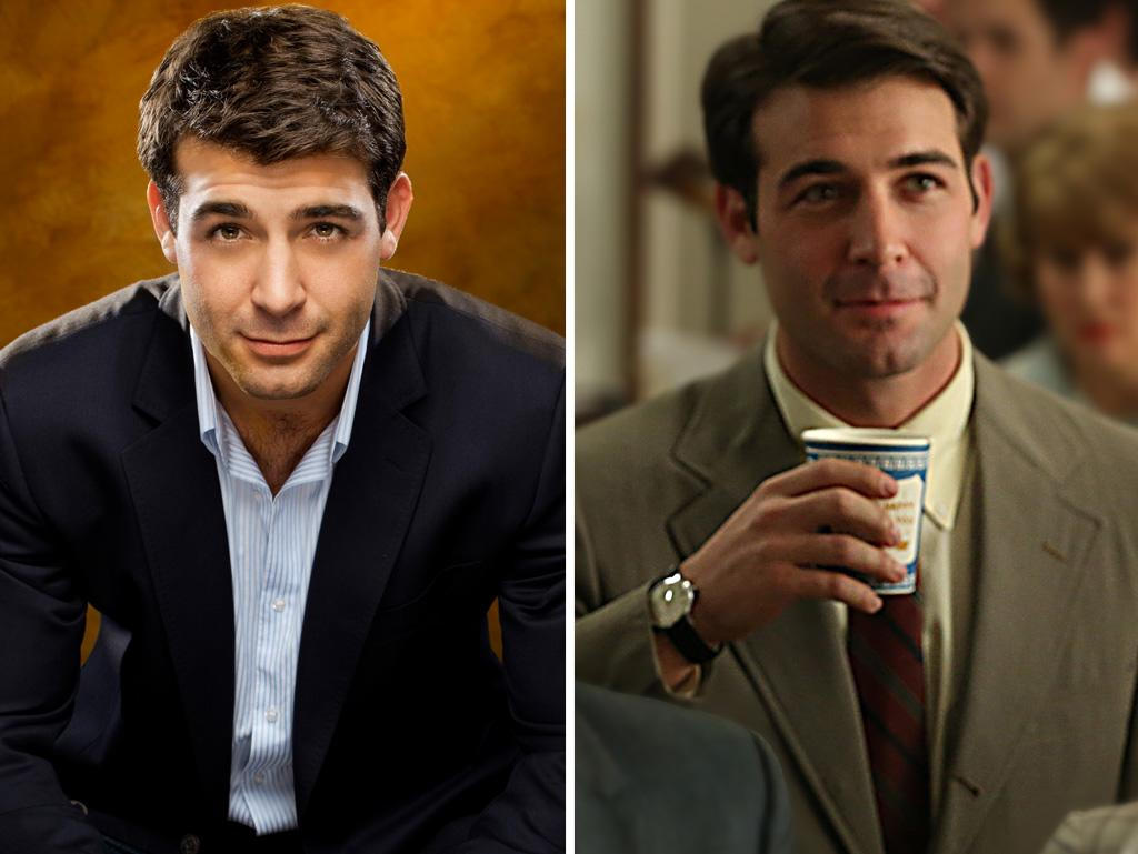"We always thought James Wolk deserved a better shot at TV stardom that the measly two weeks his Fox drama ""Lone Star"" got back in 2010. Now he's lasted a whole season on ""Mad Men"" as eager young accounts man Bob Benson, who charmed his way into a cushy gig working the Chevy account in Detroit. In real life, Wolk charmed his way into the Robin Williams CBS sitcom, ""The Crazy Ones"" — which is why we haven't seen much of Bob lately."