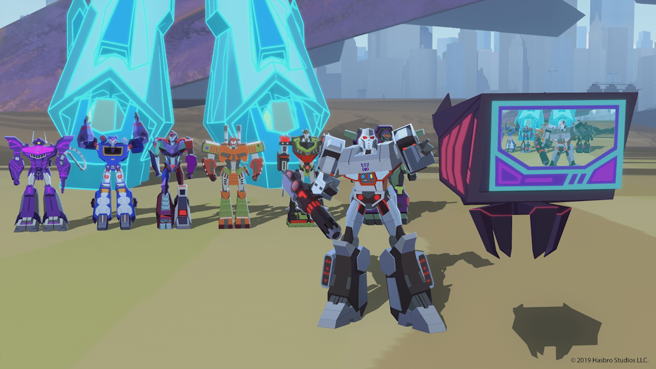 """<p><b>Saturday, Oct. 5 at 6:30 a.m. local time:</b></p> <ul> <li>""""Trials"""": Optimus and Megatron finally discover the Allspark.</li> </ul> <p><b>Saturday, Oct. 12 at 6:30 a.m. local time:</b></p> <ul> <li>""""Dark Birth"""": While Starscream acquires new power through the Allspark, the Autobots mistakenly assume Starscream is still under Megatron's command.</li> </ul> <p><b>Saturday, Oct. 19 at 6:30 a.m. local time:</b></p> <ul> <li>""""Parley"""": The Autobots and Decepticons attempt to forge an alliance in the face of the threat posed by Starscream.</li> </ul> <p><b>Saturday, Oct. 26 at 6:30 a.m. local time:</b></p> <ul> <li>""""Starscream's Children"""": Optimus Prime leads a rescue mission onto the Nemesis, saving the Decepticons from Starscream.</li> </ul>"""