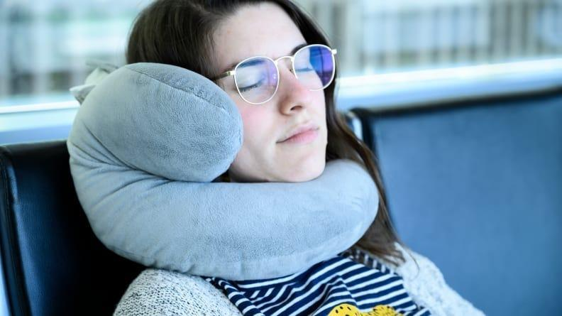 Best weird but practical gifts: J-Pillow and Carrying Bag