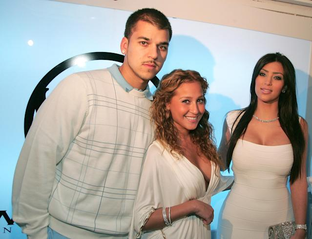 Two of the Kardashians with Bailon in 2008. (Photo: Tana Lee Alves/WireImage)