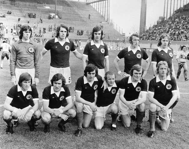 Peter Lorimer went to the 1974 World Cup finals with Scotland