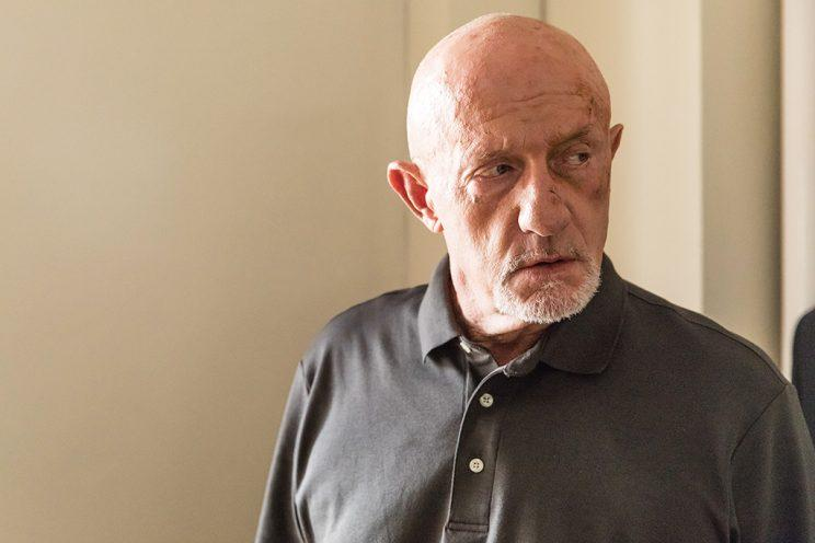 Jonathan Banks as Mike Ehrmantraut in