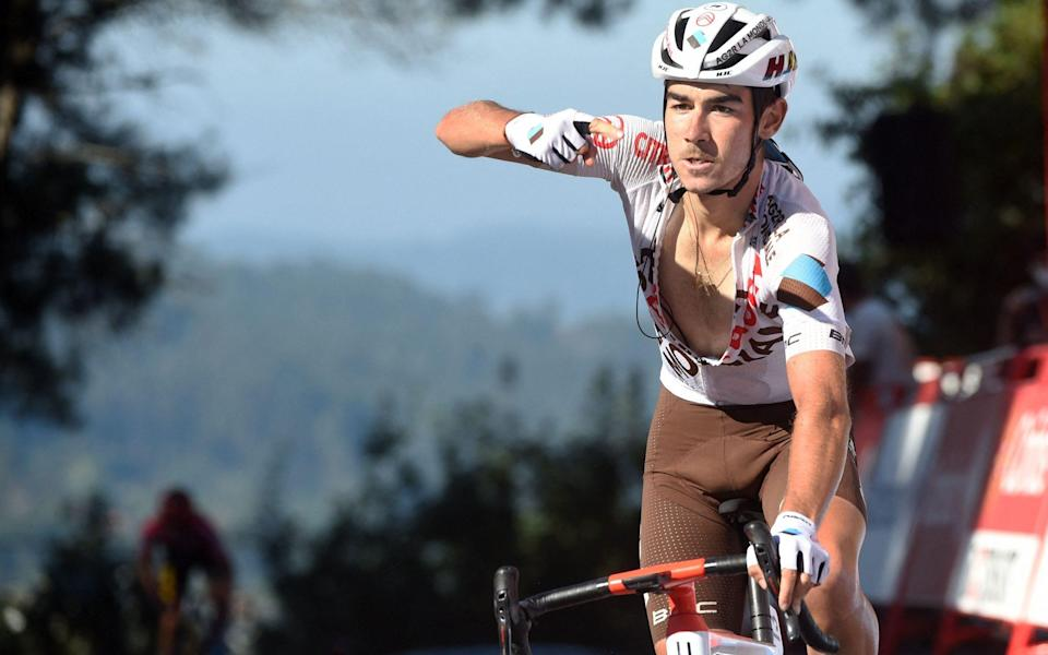 Clement Champoussin lands penultimate stage on day of drama at Vuelta a Espana as Primoz Roglic closes in on third title - GETTY IMAGES