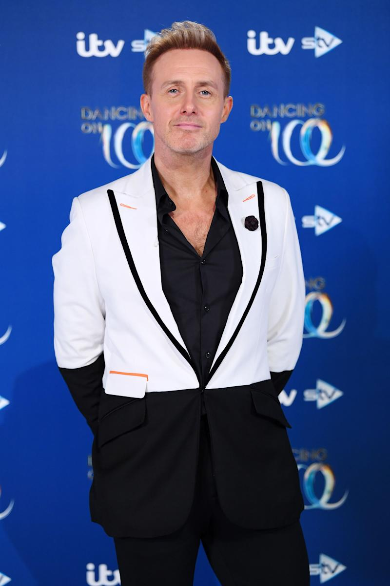"Ian ""H"" Watkins at the Dancing On Ice red carpet launch last year (Photo: David Fisher/Shutterstock)"