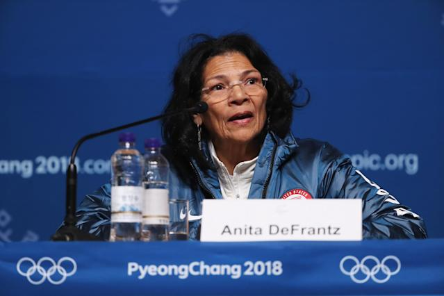 Anita DeFrantz now has a seat at the table as a member of the IOC. (Ker Robertson/Getty Images)