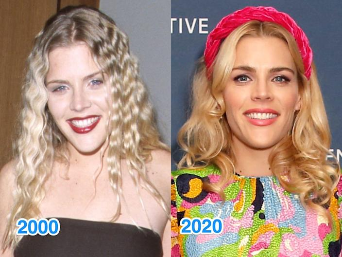 busy phillips then and now