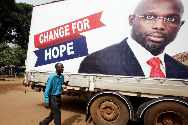 Weah favori au second tour — Présidentielle au Liberia