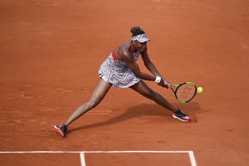 French Open set to start with Venus Williams, rain