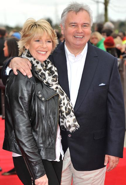 Harry Potter premiere: This Morning presenters Eamonn Holmes and Ruth Langsford were all smiles.