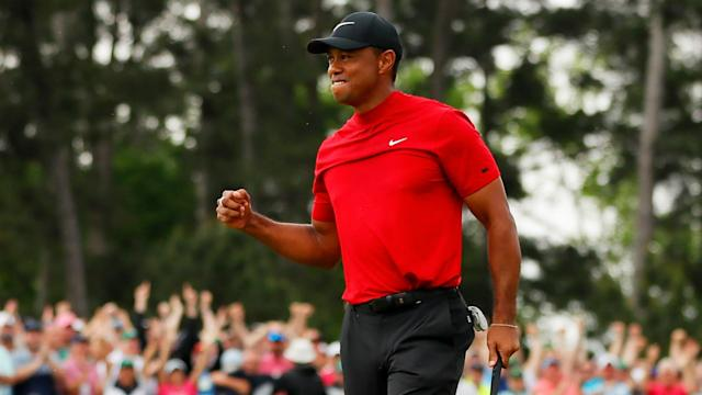 Tiger Woods secured his best ranking since 2014 following his triumphant Masters campaign.