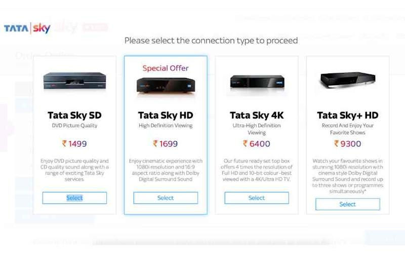 Buying a New Tata Sky Connection? Here Are All The Set Top Box Choices, at New Prices