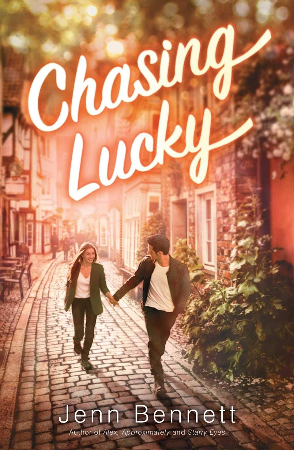 <p><span><strong>Chasing Lucky</strong></span> by Jenn Bennett is a cozy, small town romance about a girl who just can't resist the bad boy - although in truth, Lucky Karras isn't really bad, he simply doesn't fit into his small New England town. If anyone understands that it's his childhood best friend Josie Saint-Martin who has spent years moving from place to place with her mom. Now that they've returned to their hometown, Josie unexpectedly reconnects with Lucky and realizes the sweet little boy she knew as a kid has gone through some interesting changes since she last saw him.</p> <p><em>Out Nov. 10</em></p>