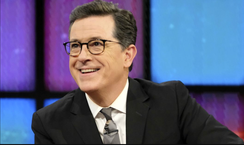 Stephen Colbert's Late Show contract extended to 2023
