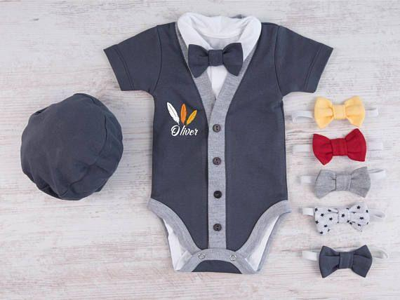 """<p><strong>BabyBodysuits</strong></p><p>etsy.com</p><p><strong>$33.21</strong></p><p><a href=""""https://go.redirectingat.com?id=74968X1596630&url=https%3A%2F%2Fwww.etsy.com%2Flisting%2F544316617%2Fbaby-boy-thanksgiving-outfit-first&sref=https%3A%2F%2Fwww.countryliving.com%2Flife%2Fkids-pets%2Fg22522047%2Fbaby-thanksgiving-outfits%2F"""" rel=""""nofollow noopener"""" target=""""_blank"""" data-ylk=""""slk:Shop Now"""" class=""""link rapid-noclick-resp"""">Shop Now</a></p><p>Debut a dapper look for baby's first major holiday.</p>"""