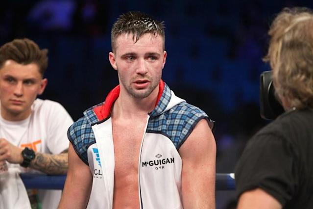 Scotland's Josh Taylor (pictured January 2017) now holds the WBA and IBF titles an dis the World Boxing Super Series champion (AFP Photo/Steve Marcus)