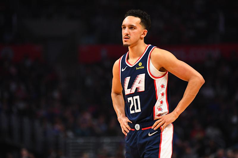 Los Angeles Clippers Forward Landry Shamet (20)