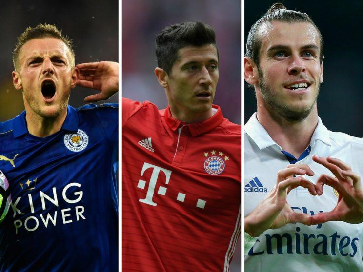 Will Jamie Vardy, Robert Lewandowski and Gareth Bale make your Daily Fantasy team?