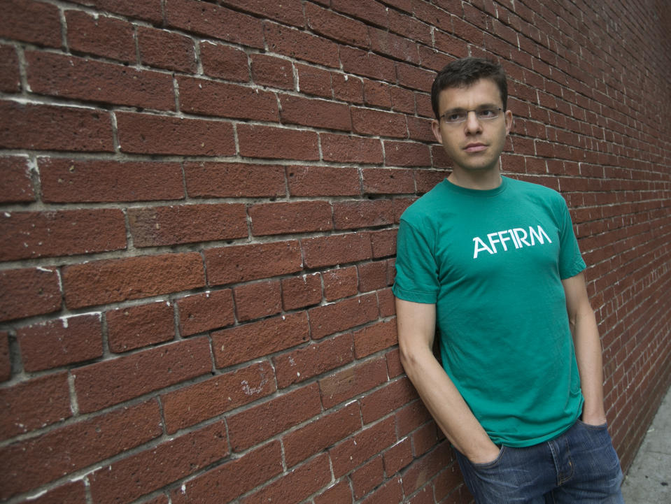 Max Levchin near his office in San Francisco, Calif., on Thursday, March 14, 2013. Levchin , one of the co-founders of Paypal is launching his own mobile payment platform, called Affirm.(John Green/Staff)(Digital First Media Group/Bay Area News via Getty Images)