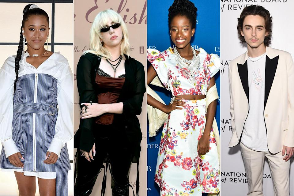 <p><strong>The theme: </strong>In America: A Lexicon of Fashion </p> <p><strong>The co-chairs: </strong>Naomi Osaka, Billie Eilish, Amanda Gorman and Timothée Chalamet </p> <p><strong>Honorary chairs: </strong>Tom Ford, Adam Mosseri and Anna Wintour </p> <p>2021 marks the first time since 1996 that Wintour has not co-chaired the event and, rather, is an honorary chair. </p>