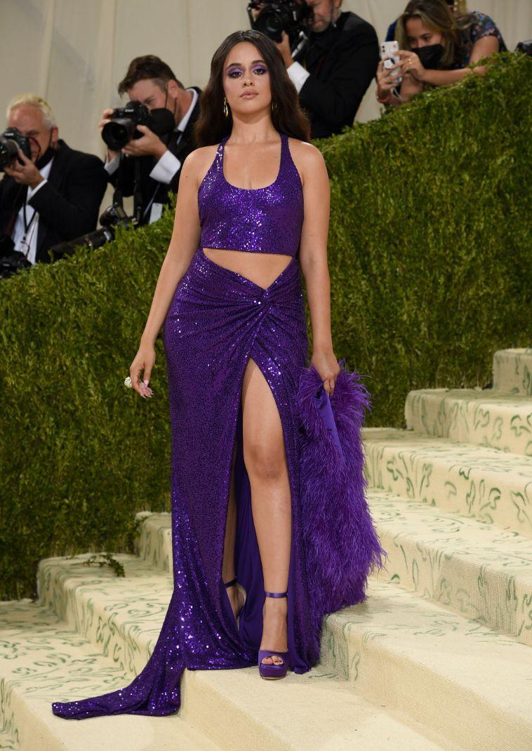 """Camila Cabello attends The Metropolitan Museum of Art's Costume Institute benefit gala celebrating the opening of the """"In America: A Lexicon of Fashion"""" exhibition on Monday, Sept. 13, 2021, in New York. - Credit: AP"""